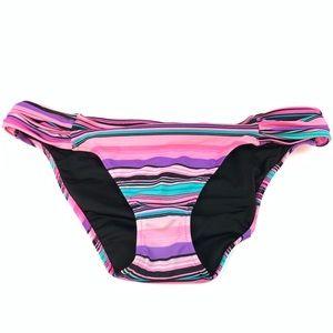 Victorias Secret Bikini Bottoms Size Medium Purple